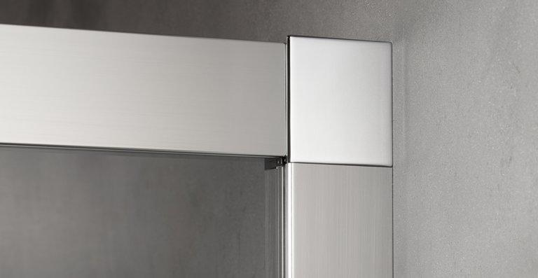 Die stabilen und glatten Profile lassen sich leicht reinigen, denn sie lassen sich einfach überwischen.
