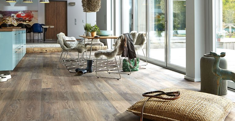 MEISTER Designboden Catega® Flex DD 300 (S) Eiche Altholz 6954   Woodfinish-Matt-Struktur   Holznachbildung