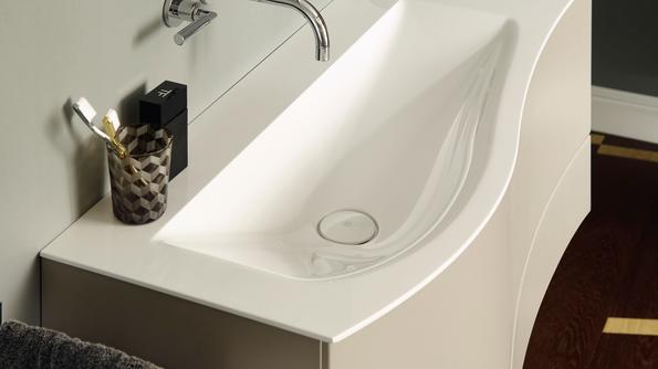 Sinea 2.0 bietet organisches, softes Design und trendaktuelle Farben für das individuelle Lifestyle-Bad.