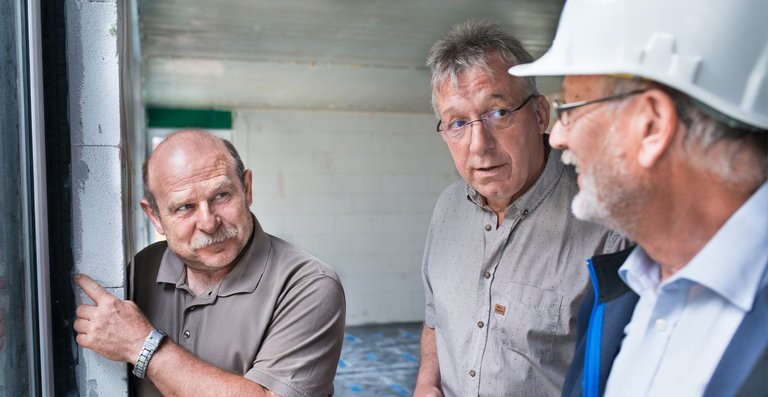 Der VQC setzt auf die Kooperation mit allen am Bauprozess beteiligten Personen, um die optimale Lösung für den Bauherren zu finden.