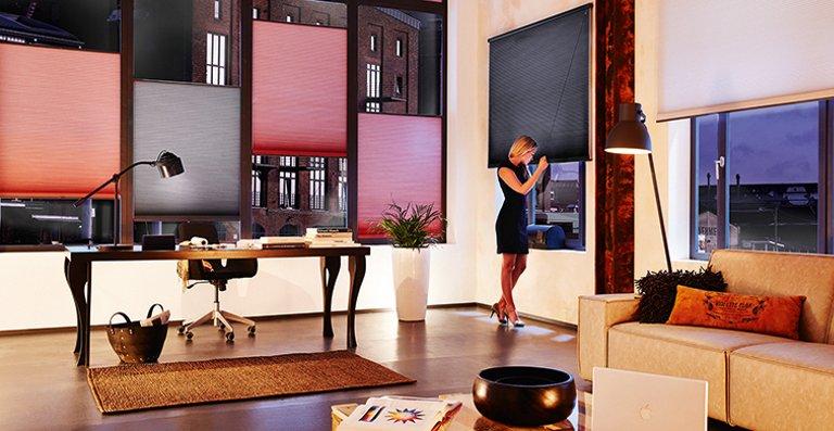 Luxaflex® DUETTE® Wabenplissee für große Fensterfronten