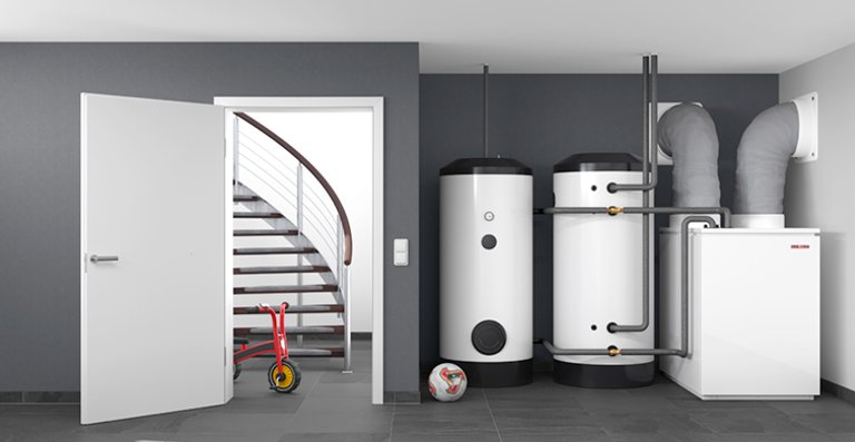 WPL 19/24 - innenaufgestellte Luft|Wasser-Wärmepumpe für die Sanierung