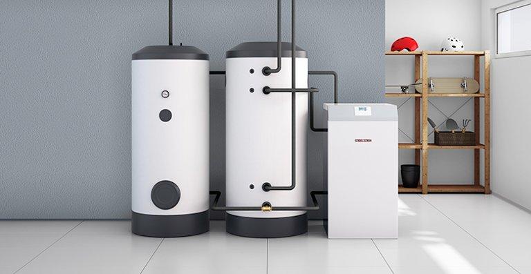 WPW - innenaufgestellte Wasser|Wasser-Wärmepumpe