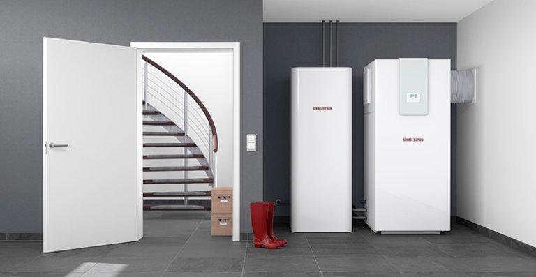 WPL IKCS - innenaufgestellte Luft|Wasser-Wärmepumpe für den Neubau