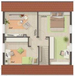 Grundriss Dachgeschoss Aspekt 110