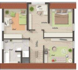 Grundriss Dachgeschoss Lichthaus 121 - Trend