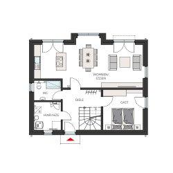 ProFamily 143 - Erdgeschoss