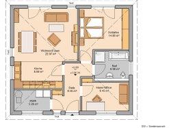 Grundriss Kern-Haus Bungalow Easy