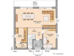 Kern-Haus Bauhaus Novum P Obergeschoss