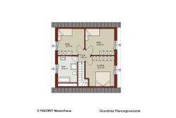 Planungsvariante Dachgeschoss