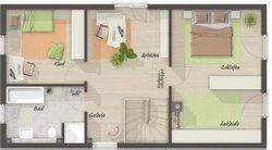 Grundriss Obergeschoss Aura 125