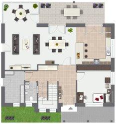 musterhaus isabella von gussek haus franz gussek gmbh co. Black Bedroom Furniture Sets. Home Design Ideas