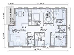 Grundriss SH 127 B Variante B