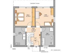 Kern-Haus Bauhaus Novum P Erdgeschoss