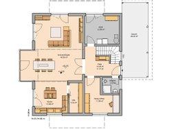 Grundriss Architektenhaus Apos Erdgeschoss