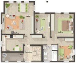 Grundriss Erdgeschoss Domizil 192 - Standard