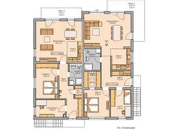 Kern-Haus Mehrfamilienhaus Quadra Obergeschoss
