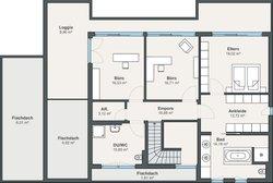 architektenhaus mit viel glas von weberhaus gmbh co kg. Black Bedroom Furniture Sets. Home Design Ideas