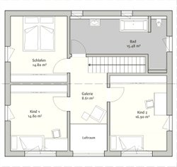 modern 145 von fischerhaus gmbh co kg hausbaubuch. Black Bedroom Furniture Sets. Home Design Ideas