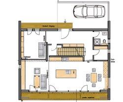 Functionality-Haus / Grundriss EG
