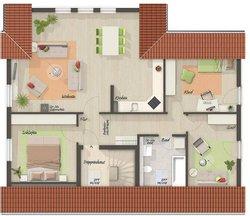Grundriss Dachgeschoss Domizil 192 - Standard