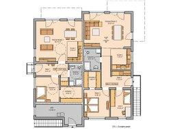Kern-Haus Mehrfamilienhaus Quadra Erdgeschoss