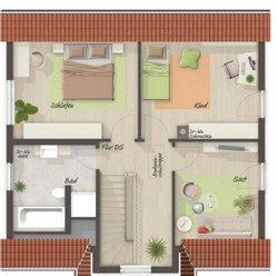 Grundriss Dachgeschoss Lifestyle 120