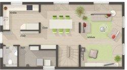 Grundriss Erdgeschoss Aura 125