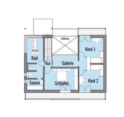 Grundriss Alpenchic Dachgeschoss