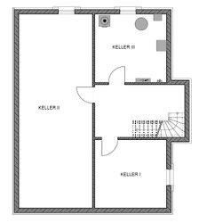 Das Musterhaus Ratzeburg ist voll unterkellert. Die Haustechnik und der Hauswirtschaftraum finden hier ihren Platz.