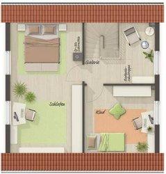 Grundriss Dachgeschoss Aspekt 90