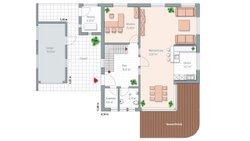 Musterhaus Mannheim - Grundriss Erdgeschoß