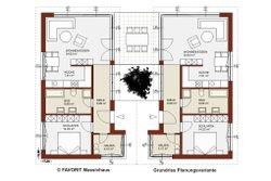 Erdgeschoss Planungsvariante