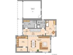 Grundriss Futura Bauhaus Erdgeschoss