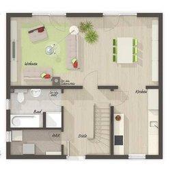 Grundriss Erdgeschoss Aspekt 110