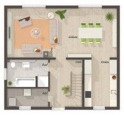 Grundriss Erdgeschoss Aspekt 133