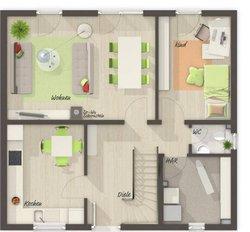 Grundriss Erdgeschoss Flair 113