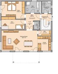 Kern-Haus Zweifamilienhaus Duplea Erdgeschoss