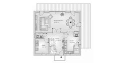 hebelHAUS EFH family 10.203 Grundriss Erdgeschoss
