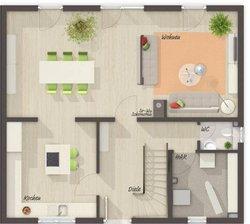 Grundriss Erdgeschoss Flair 125