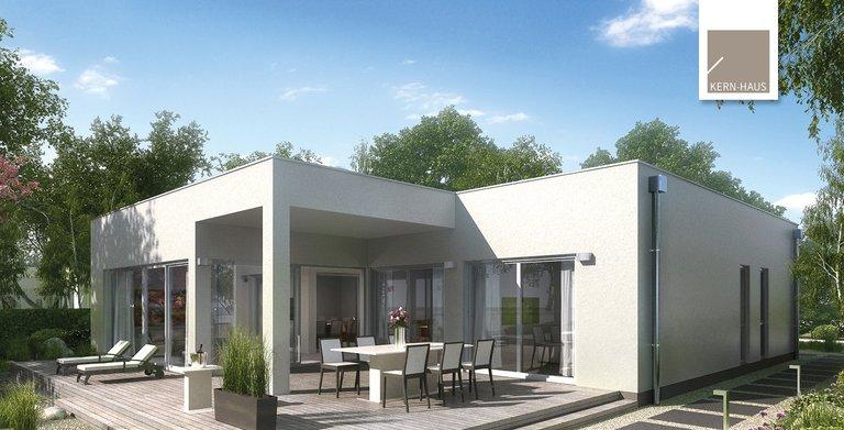 Kern-Haus Bungalow Select Garten Seitenansicht Copyright: