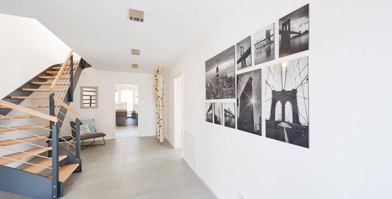 Musterhaus Stuttgart Diele  Copyright: