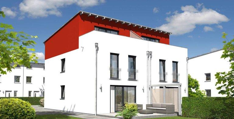 Doppelhaus Mainz 128 - Modern mit Dachterasse