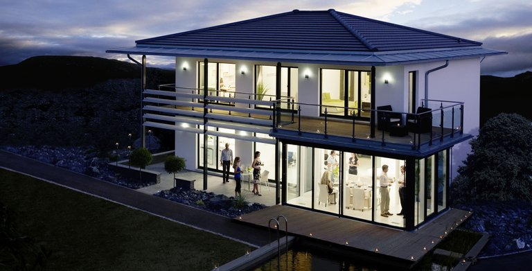 Stadtvilla SETROS Fellbach von KAMPA GmbH