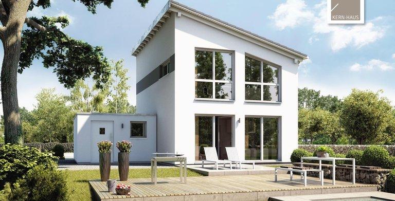 Kern-Haus Singlehaus One Gartenseite Copyright: