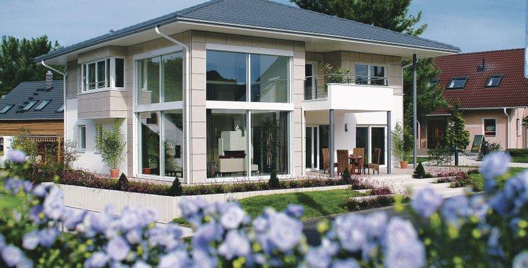 Villa mit Aussicht Copyright: WeberHaus
