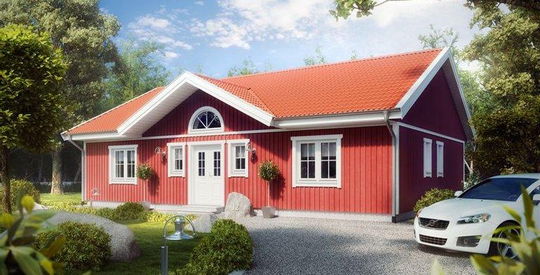 Villa Ulf Svenssen von ALADOMO Schwedenhaus GmbH & Co. KG