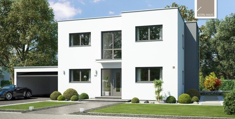 Atemberaubende Architektur, nicht nur für Designer. Das Bauhaus Modus von Kern-Haus von der Eingangsseite Copyright: