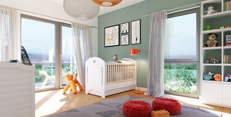 Wohnbeispiel Kinderzimmer Copyright: © Living Haus 2019