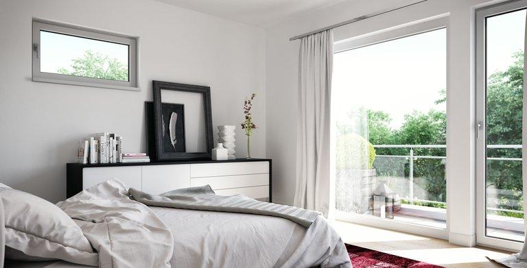 Wohnbeispiel Schlafzimmer Copyright: © Living Haus 2019